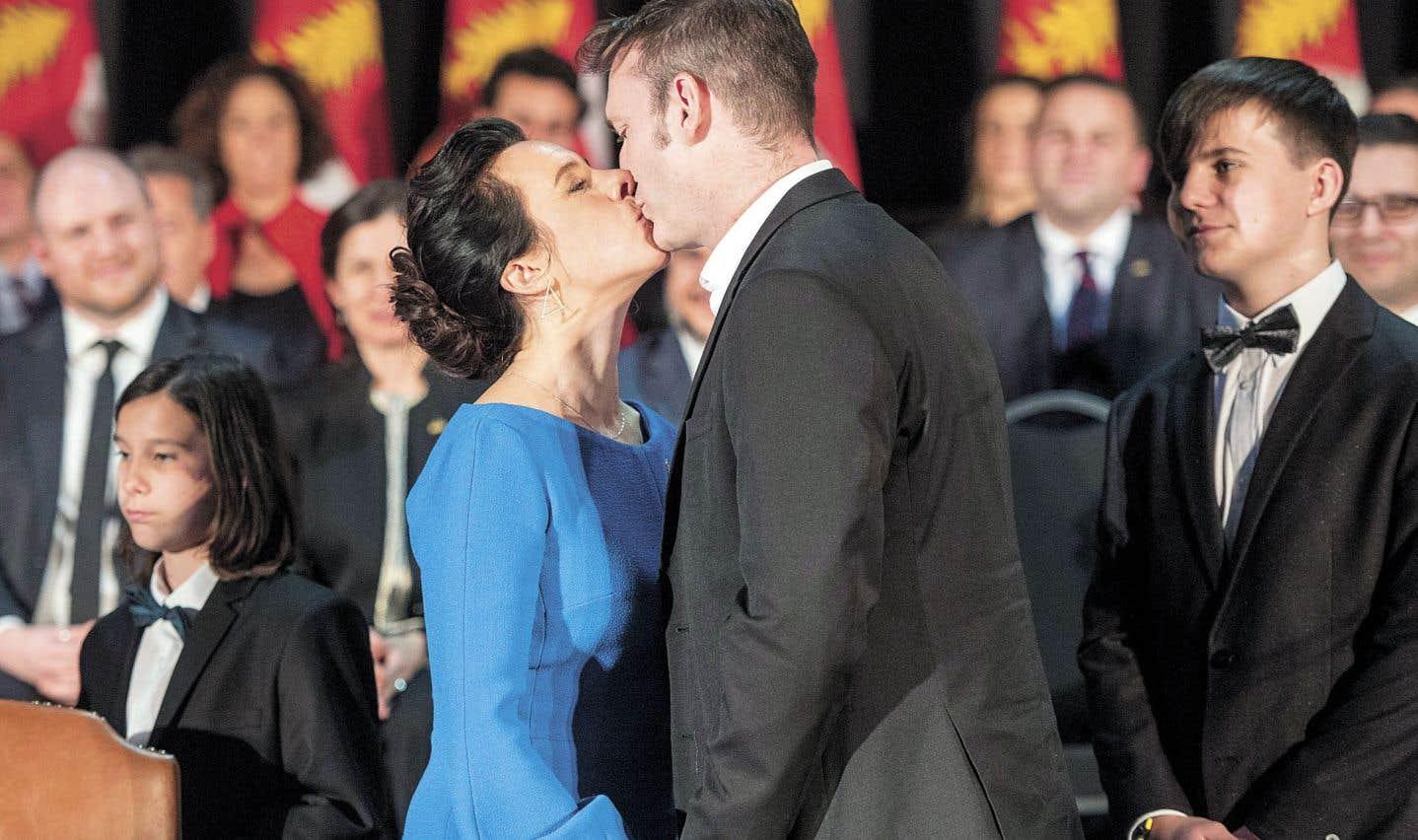 Le conjoint de Valérie Plante, Pierre-Antoine Harvey, confie que les lendemains de l'élection ont été «traumatisants».