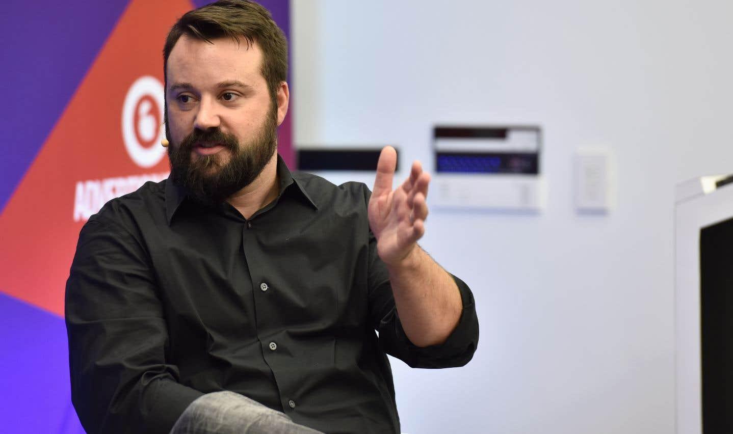 L'ex-chef des nouvelles numériques de Vice Media, Mike Germano, en septembre 2016.