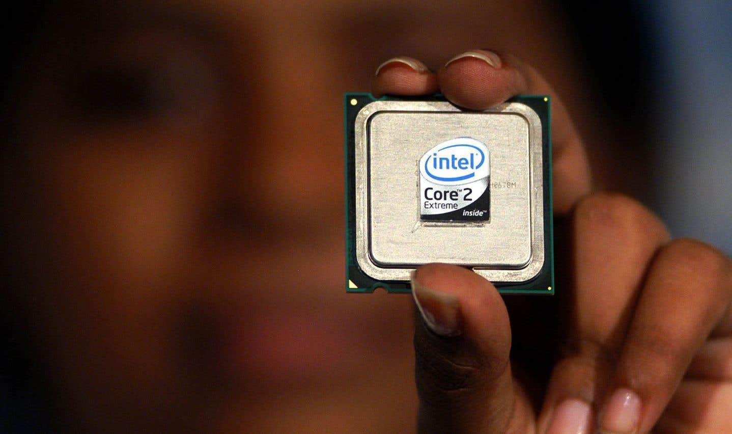Une faille de sécurité dans des processeurs Intel