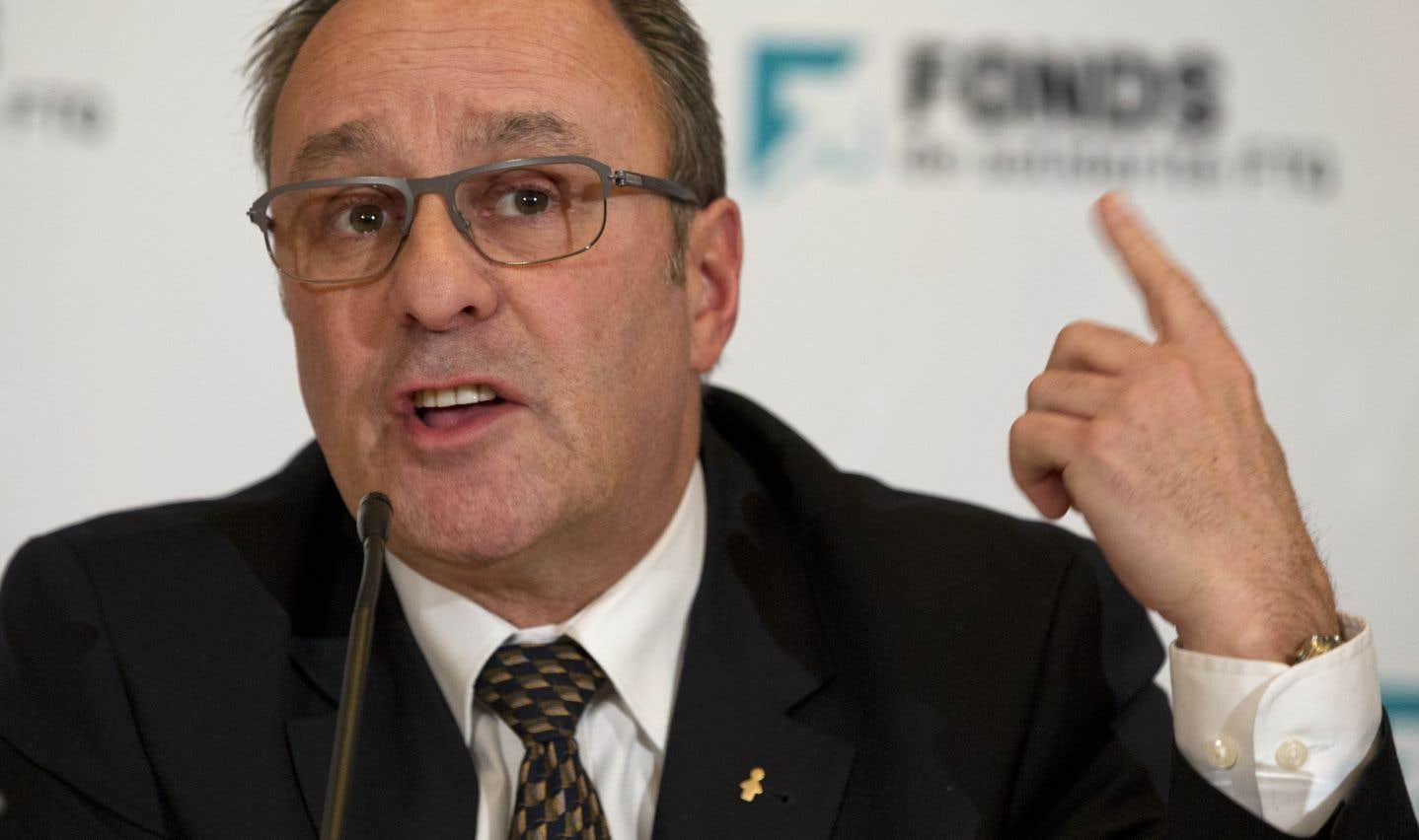 Daniel Boyer, président de la centrale syndicale FTQ