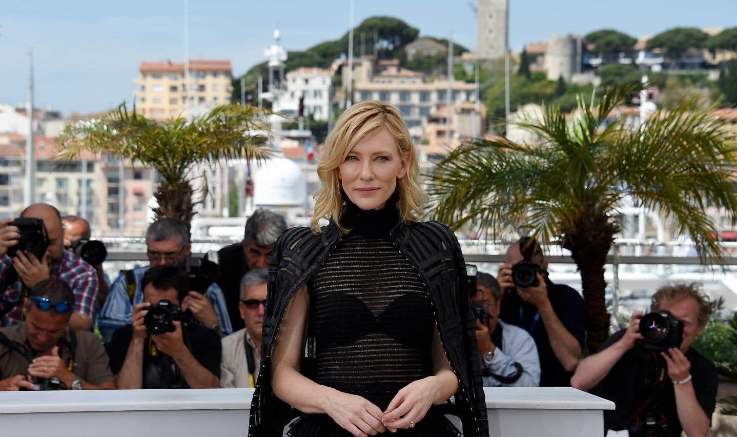 L'actrice australienne Cate Blanchett, au Festival de Cannes 2015