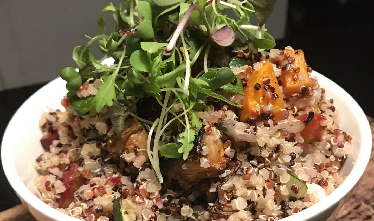 La recette de «Qui Noah Royal» de la chef de Miss Prêt à manger, Kim Lallouz