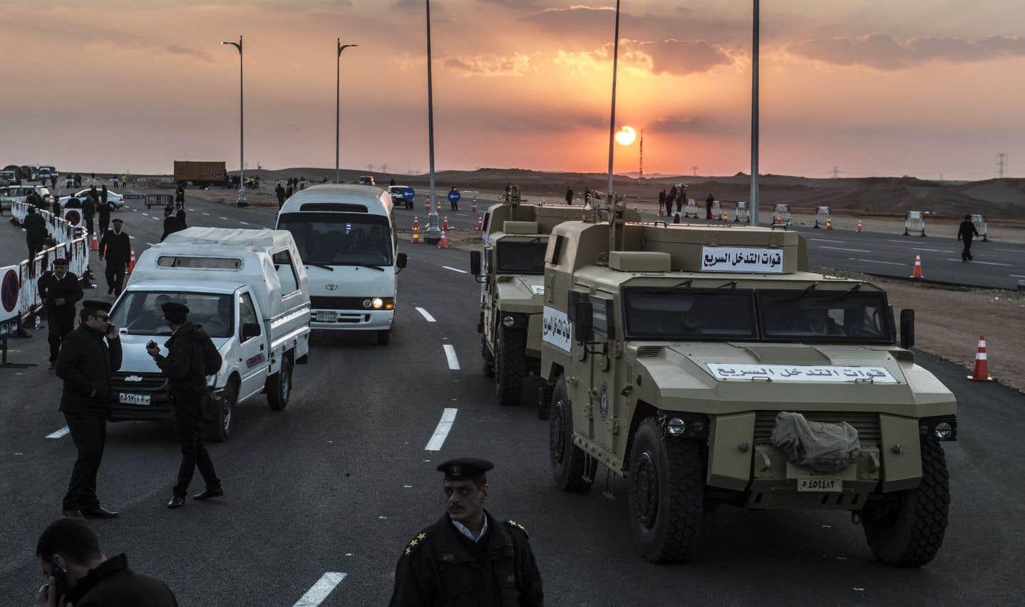L'état d'urgence prolongé de trois mois en Égypte