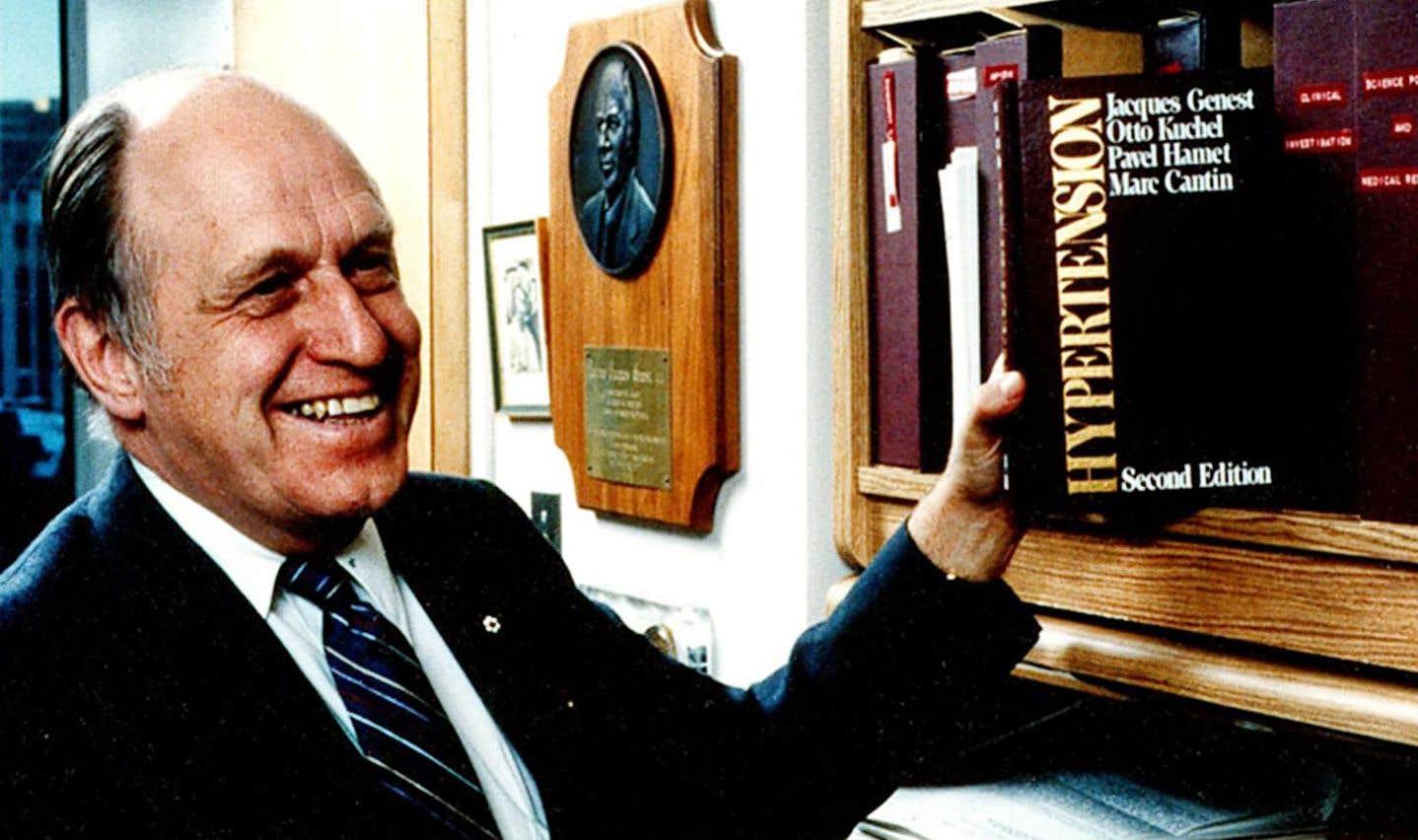 Le Dr Jacques Genest, pionnier de la recherche clinique au Québec, s'est éteint le 5 janvier dernier à l'âge de 98 ans.