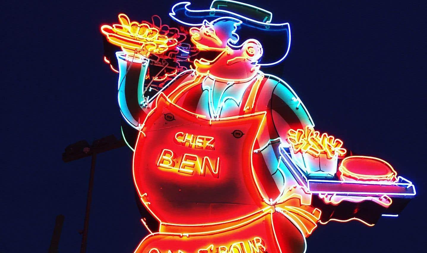 Le célèbre Chez Ben on s'bour la bédaine est connu à travers la province.