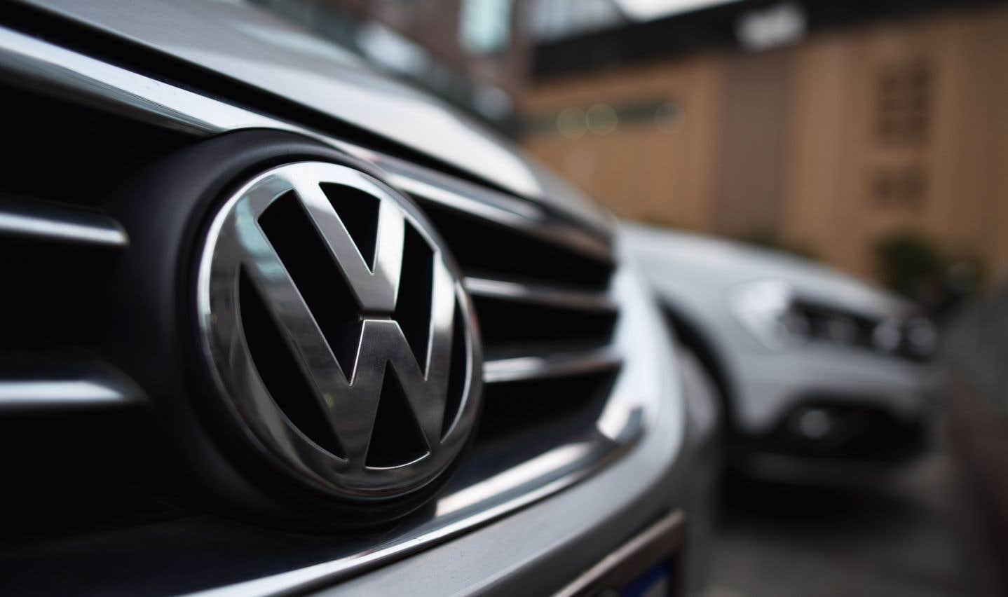 Actions collectives: Volkswagen conclut une entente au Canada