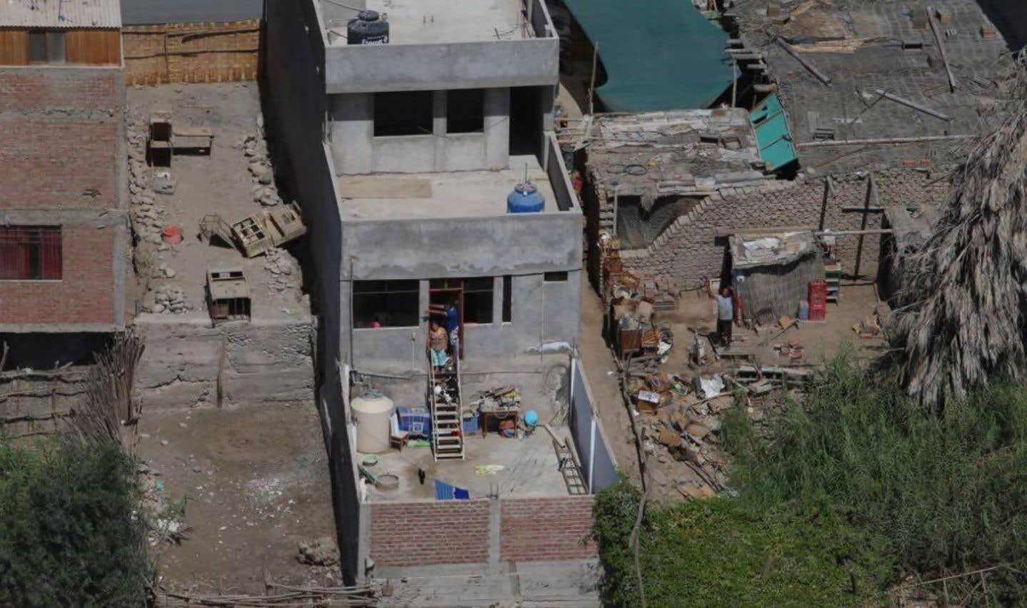 Des bâtiments ont été endommagés à Chala, une petite ville située à l'ouest d'Arequipa.