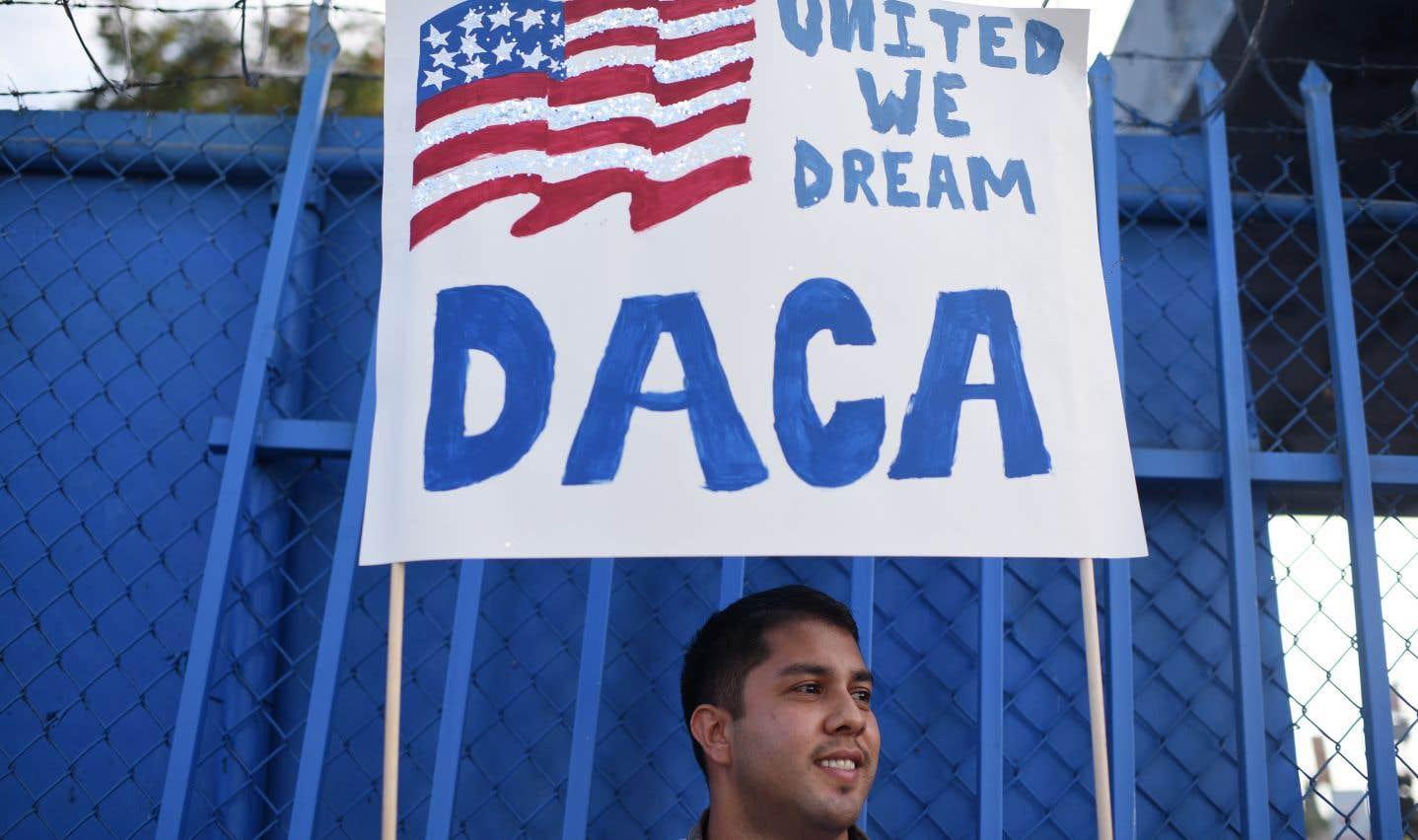 Donald Trump a proposé un pacte donnant-donnant: une solution pour les «Dreamers» en échange du financement du mur controversé qu'il a promis lors de sa campagne présidentielle d'ériger à la frontière avec le Mexique.