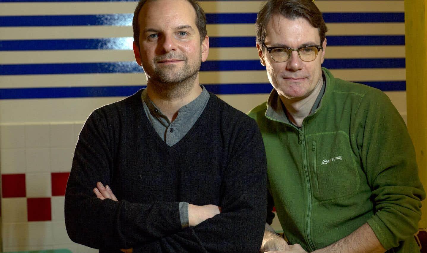 «Warda»: Michael Delaunoy et Sébastien Harrisson sur un tapis volant