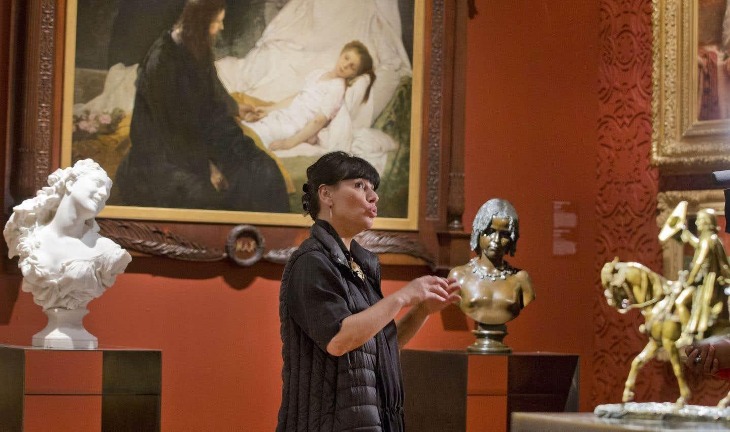 Nathalie Bondil souhaite que la nouvelle collection intègre une consonance locale, qui témoignera de l'immigration à Montréal par exemple. De nouvelles œuvres seront commandées à cet égard.