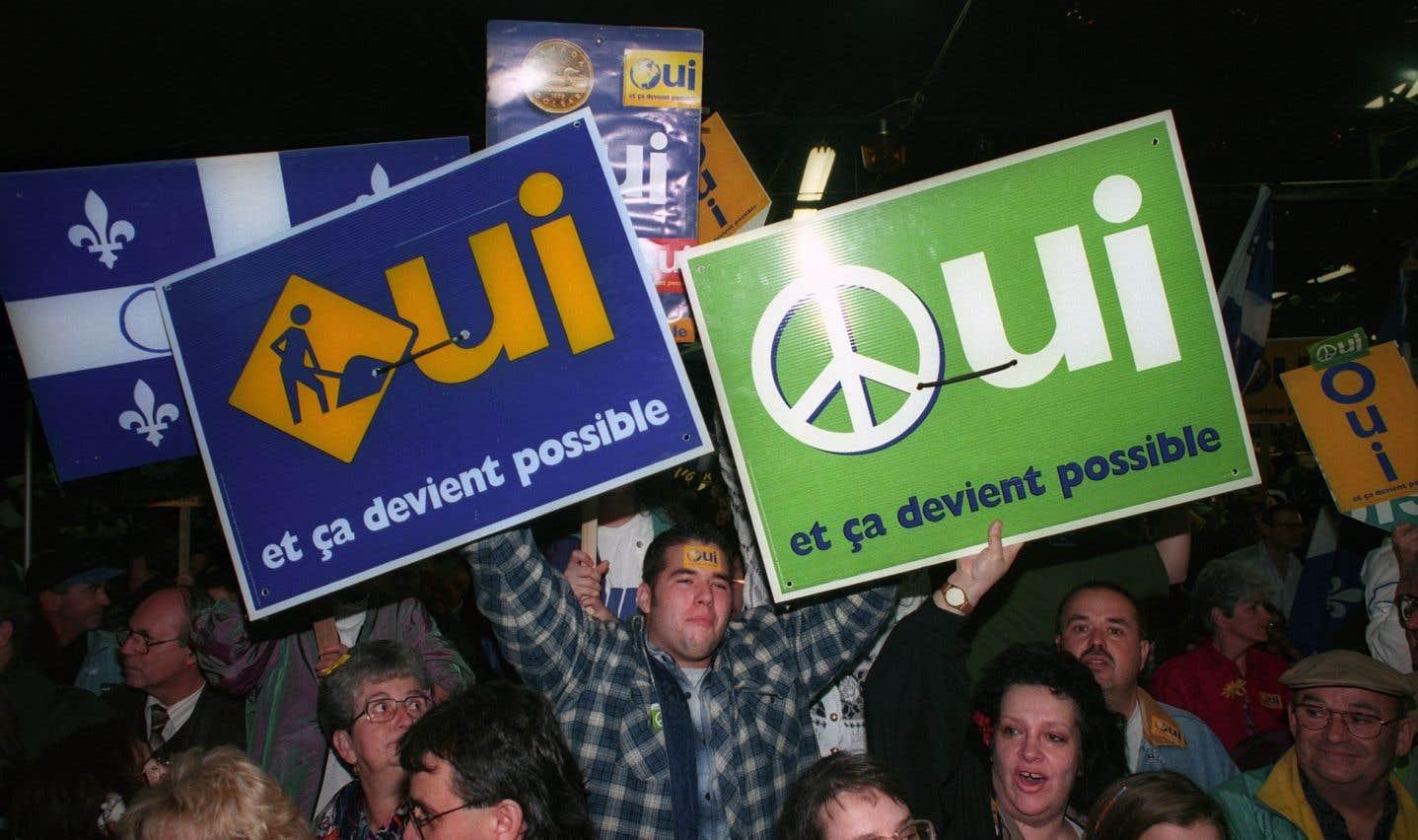 À l'exception du référendum de 1995, les stratégies souverainistes ont été le plus souvent axées sur l'objectif électoral.