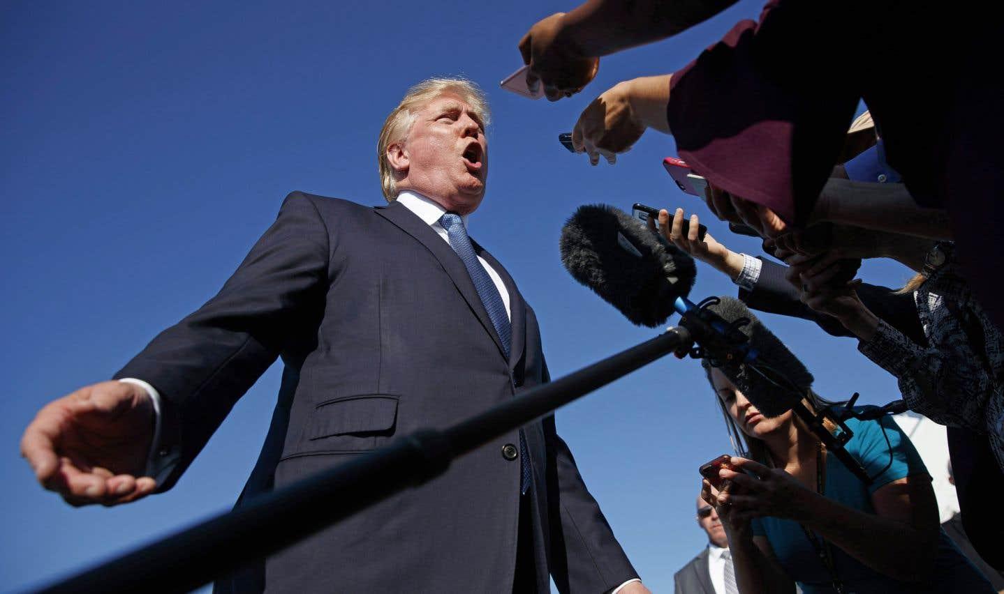 Le président américain, Donald Trump, a publié mercredi son palmarès des «Fake News Awards».