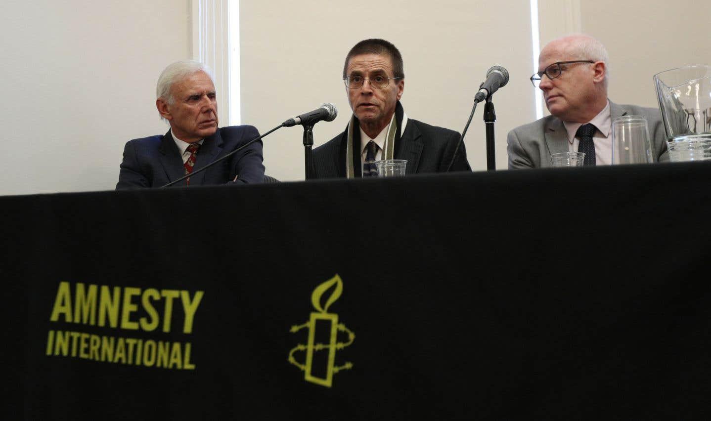 Hassan Diab, son avocat et le comité qui a pris sa défense réclament une révision de la Loi canadienne sur l'extradition.