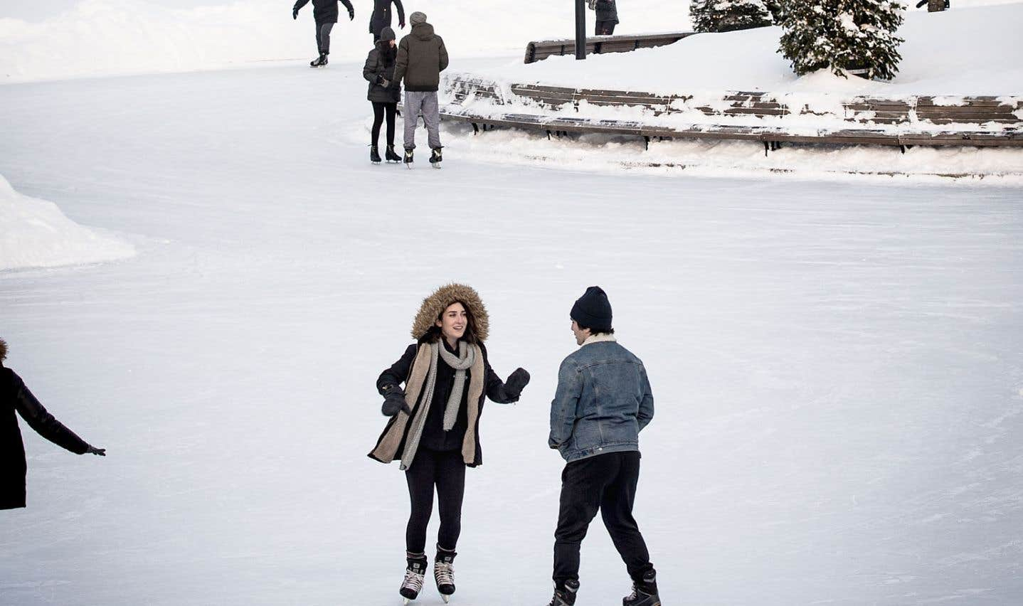 Montréal abandonne la patinoire naturelle du lac aux Castors