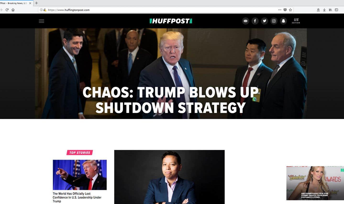 Ces changements ne touchent que l'édition américaine du HuffPost.