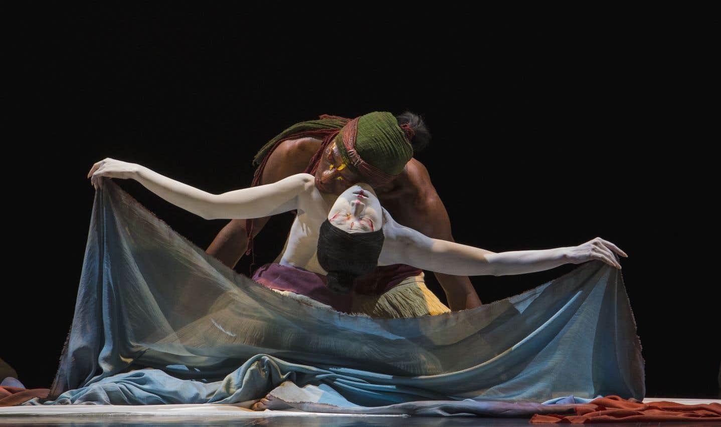 Dans «The Eternal Tides», la chorégraphe Lin Lee-Chen s'attache à l'eau, à l'océan.