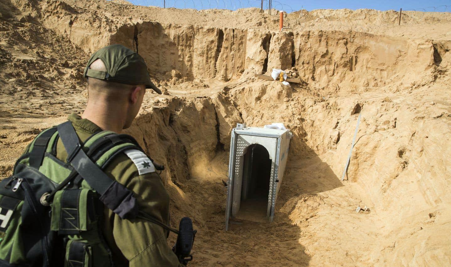Gaza: Israël dévoile son mur souterrain en chantier