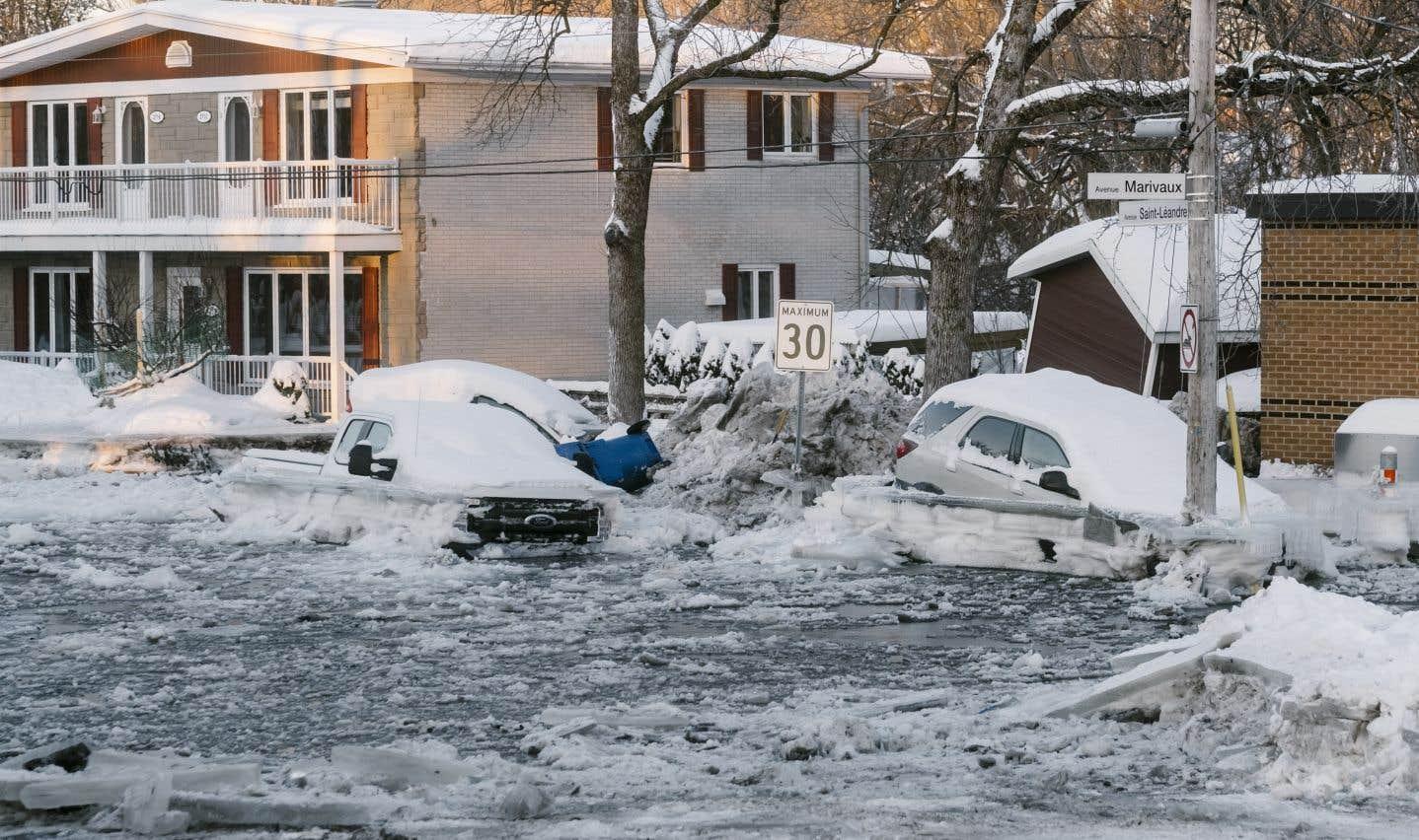 Inondation à Québec: des sinistrés peuvent rentrer chez eux