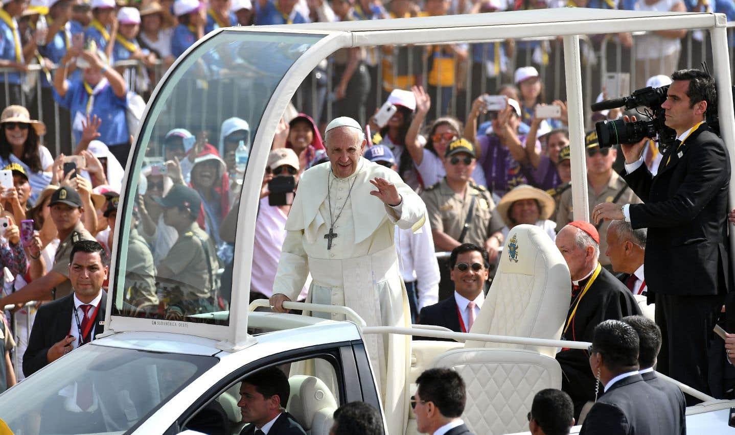 Le pape fustige la corruption qui rend «malade» l'Amérique du Sud