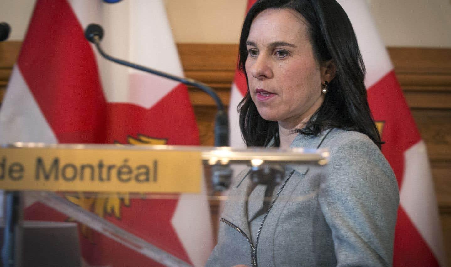 L'opposition presse Valérie Plante de ne pas hausser la taxe d'eau
