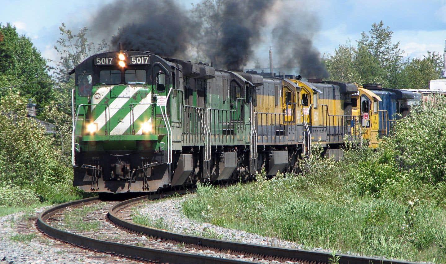 Les risques en ce qui concerne la pente, entre Nantes et Lac-Mégantic, où le train impliqué dans la tragédie s'est mis en branle, sont toujours présents.