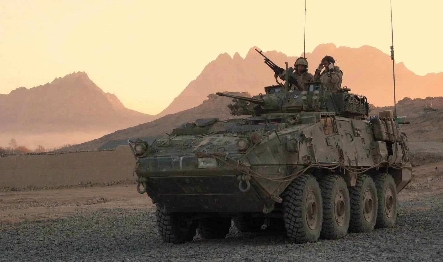 Ottawa a suspendu l'exportation de blindés vers Riyad