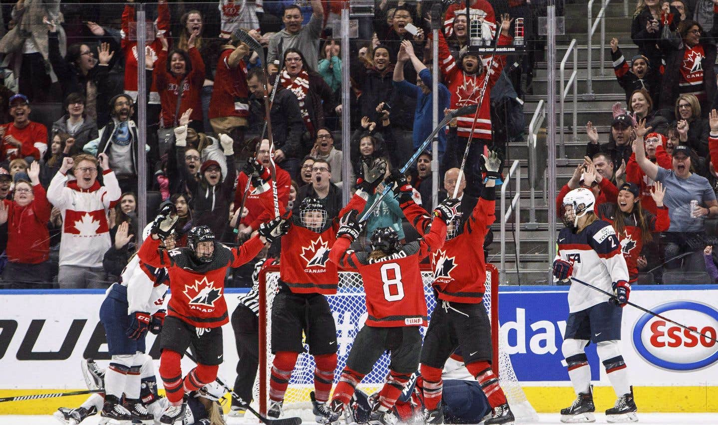 Place aux hockeyeuses aux Jeux olympiques de Pyeongchang