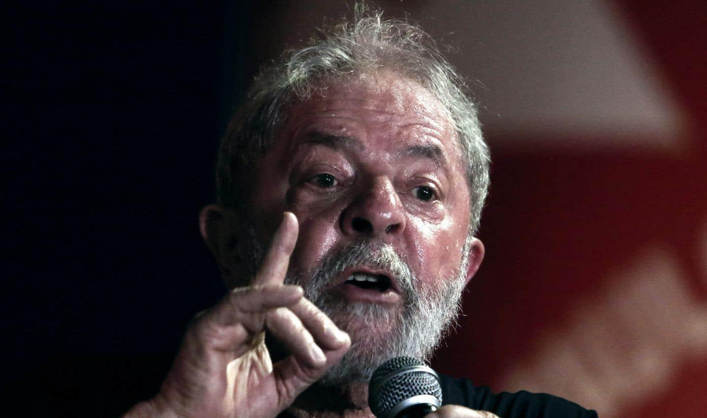 Mercredi, l'ex-président s'est adressé à la foule, à São Paulo, lors d'un rassemblement de soutien lui étant consacré.