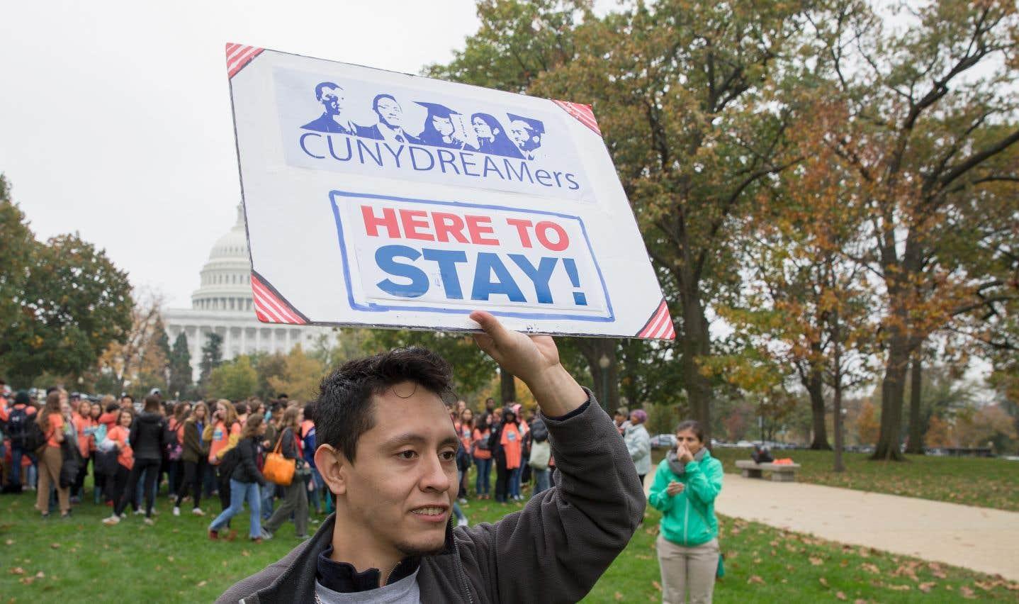Au nombre de 690 000, les «Dreamers» sont actuellement protégés par un programme mis en place par Barack Obama.