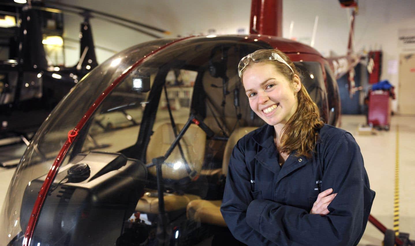 Finissante au baccalauréat en génie mécanique, Roxane Roy a fait un séjour d'études de huit mois à l'Université polytechnique de Valence, en Espagne.