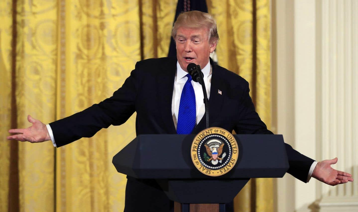 «Je suis prêt à le faire […] J'aimerais vraiment le faire», a déclaré le président américain à quelques heures de son départ pour Davos.