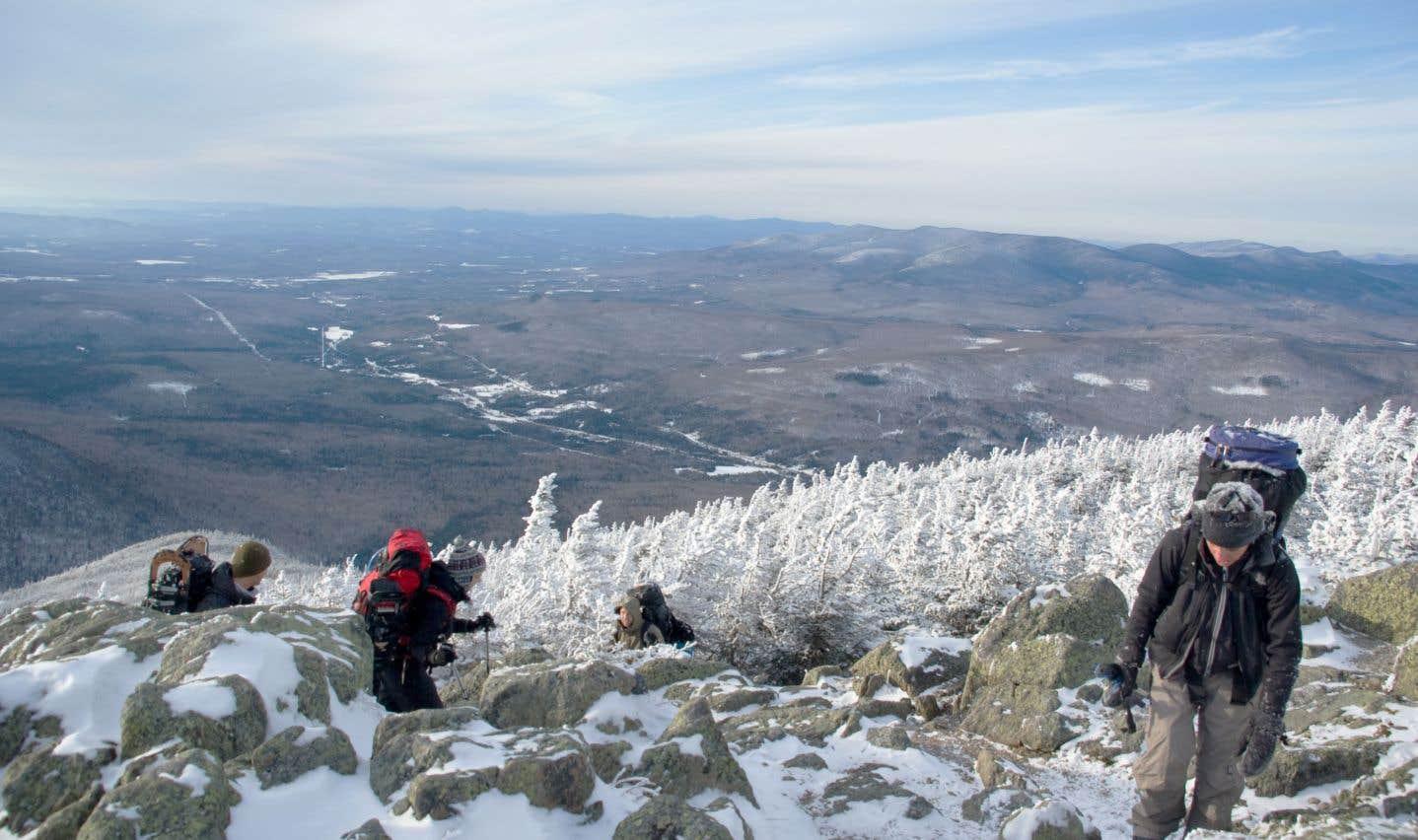 Excursion au mont Adams, dans le New Hampshire.
