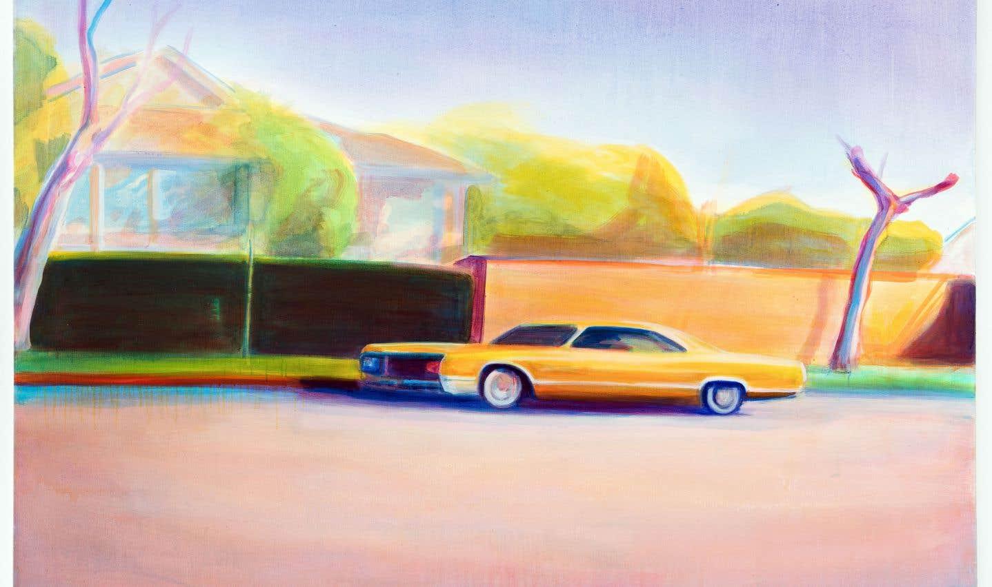 «Golden Buick», œuvre de Stephen Lack