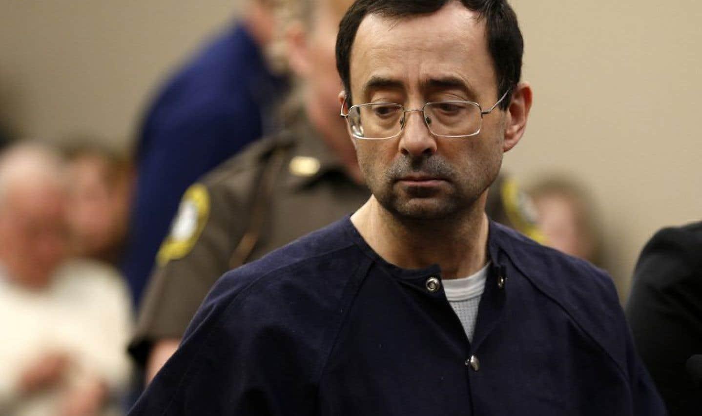 Larry Nassar a été condamné à une peine allant de 40 à 175 années de prison.