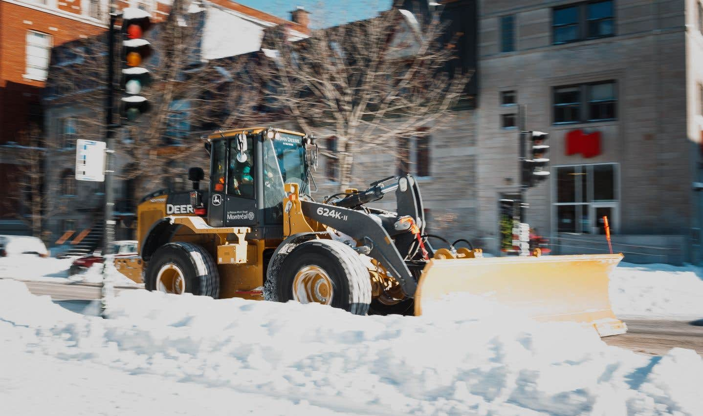 Une opération d'enlèvement de la neige coûte en moyenne 1million $ par arrondissement.