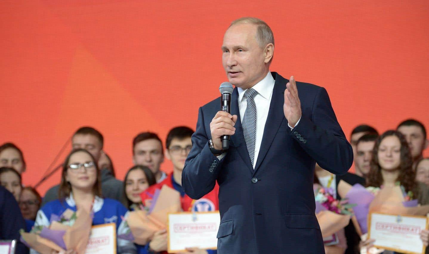 Le président russe, Vladimir Poutine, jeudi