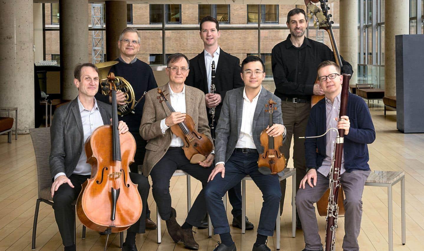 Les Solistes de l'OSM sont menés par le violoniste Andrew Wan.