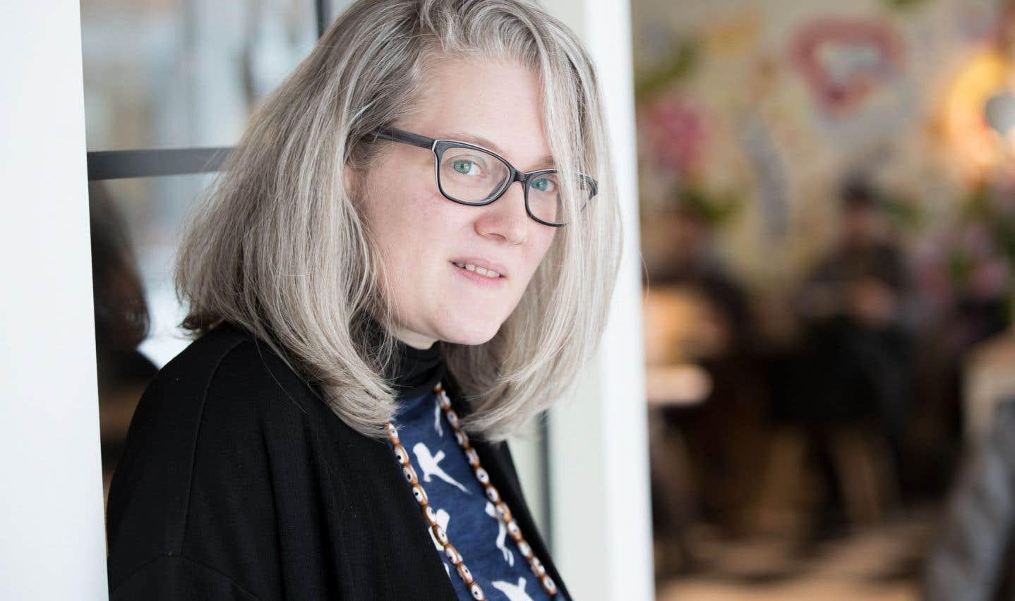 L'artiste Meb a pris pour matériau le roman «Maria Chapdelaine».