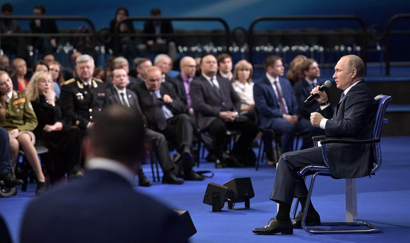 Poutine affirme que la Russie veut tourner la page du dopage aux Olympiques