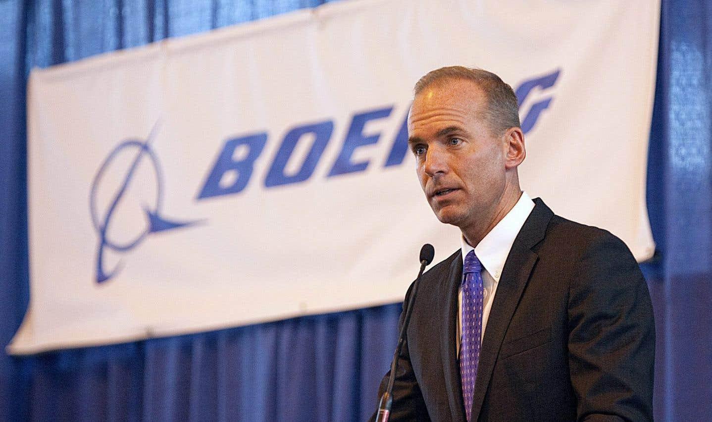 Le chef de la direction de Boeing, Dennis Muilenburg, a expliqué, mercredi au cours d'une conférence téléphonique, qu'il voulait d'abord comprendre pourquoi l'organisme américain avait estimé que la CSeries ne portait pas préjudice à l'avionneur américain.