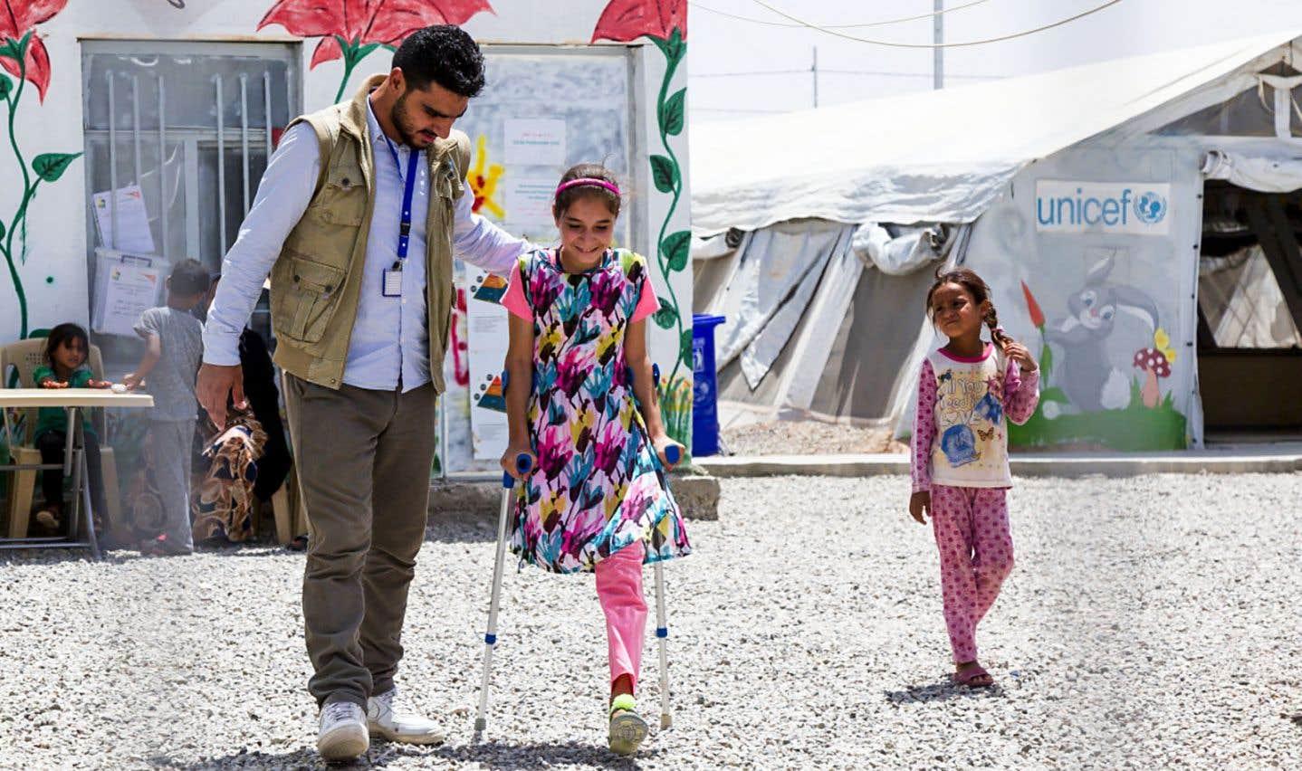 Aide humanitaire: inclure les personnes handicapées