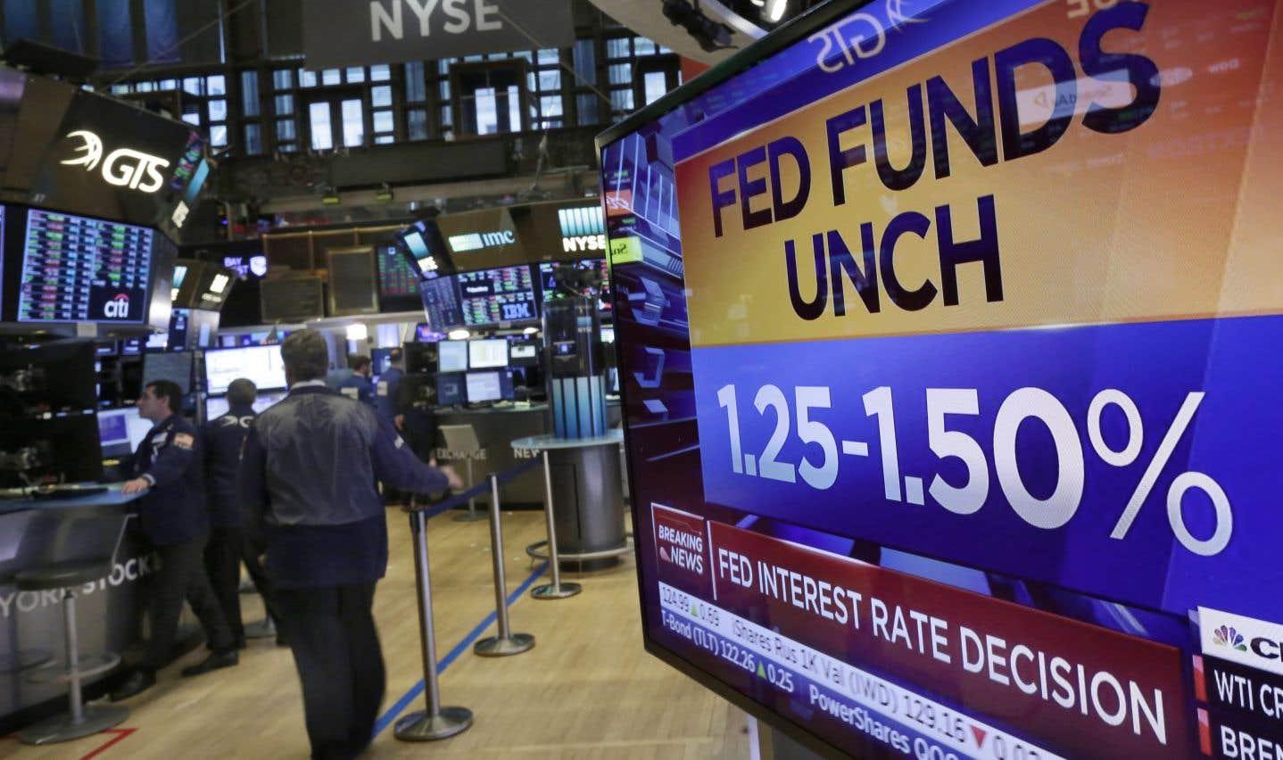 Sans surprise, la Fed a laissé son taux directeur inchangé à l'intérieur de l'étroite fourchette de 1,25% et 1,50%.