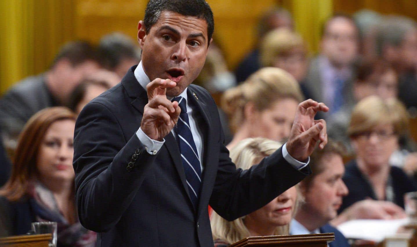 Alain Rayes, député de Richmond-Arthabaska et lieutenant québécois du chef conservateur Andrew Scheer, en octobre dernier