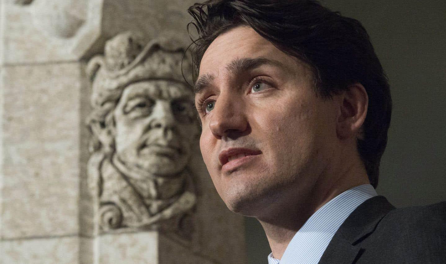 Il n'est pas question d'empêcher la construction du pipeline Trans Mountain, a ajouté le premier ministre Trudeau.