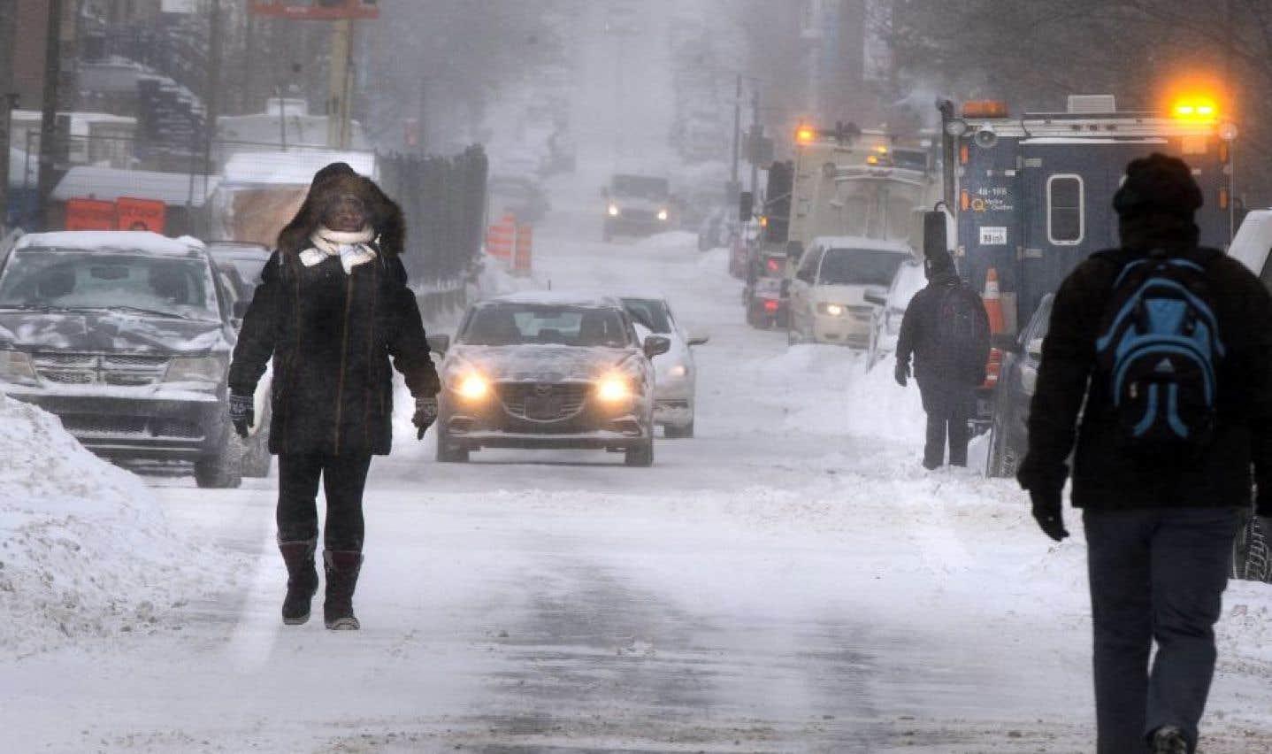 Les températures ressenties varieront de moins 35 à moins 45 degrés Celsius.