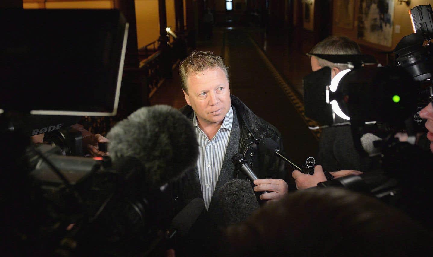 Rick Dykstra a fait l'objet d'une plainte à la police pour agression sexuelle en 2014 lorsqu'il était encore député fédéral.