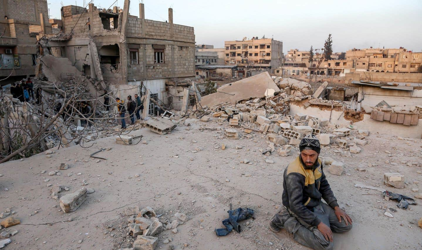 Syrie: le régime bombarde la Ghouta sans relâche