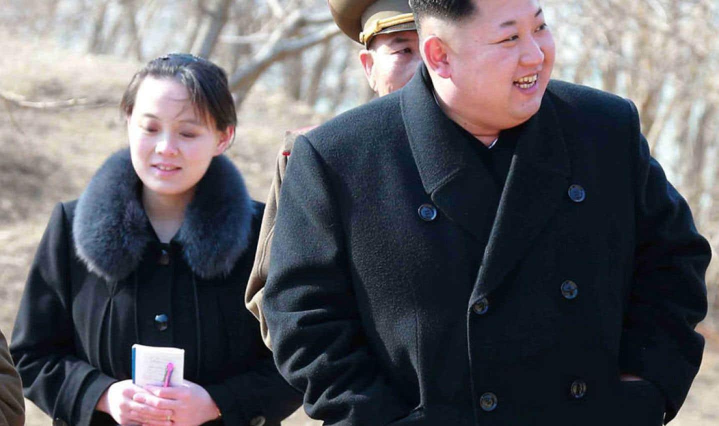 La soeur de Kim Jong-un dépêchée aux JO pour rencontrer le président sud-coréen