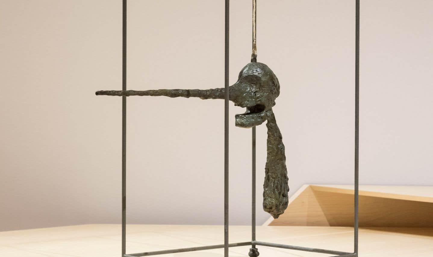 Alberto Giacometti, «Le Nez», 1947. Bronze.