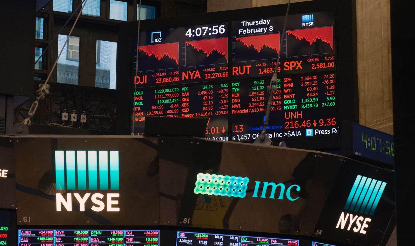 Fébrilité et nouvelle baisse des Bourses